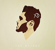 The Weeknd Album Art Case by Ryan Perkins