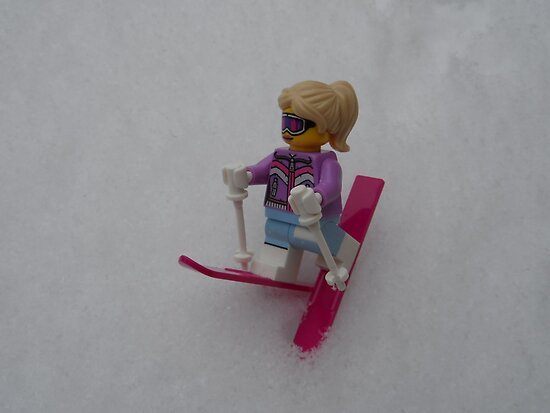 Lego Ski by liberthine01