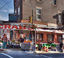 Italian Market Scene by Rob Lybeck