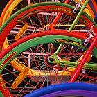Colourful Wheels by feef