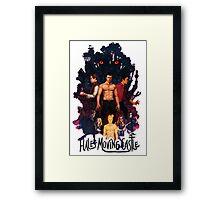 Hale's Moving Castle Framed Print