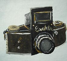 Exakta Vintage Camera - Fine Art by JamesPeart