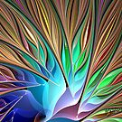 Fractal Bird of Paradise by wolfepaw