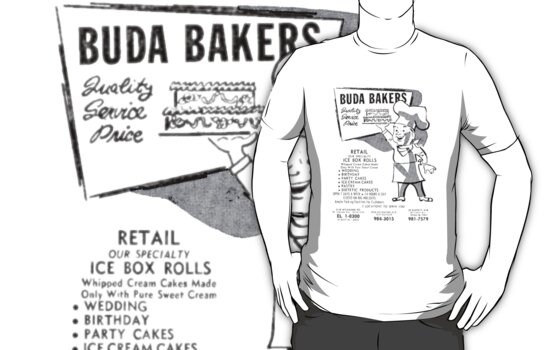 Buda Bakers Shirt by ARENA PIX