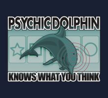 Psychic Dolphin Knows What You Think Kids Clothes