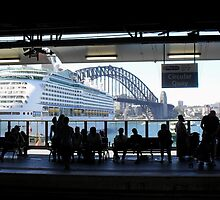 Circular Quay, Sydney 6th January 2013 by Stephen Denham