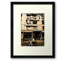 Saigon Street Framed Print