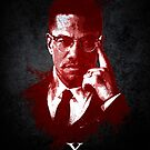 Malcolm X by Paulo Capdeville