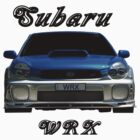 Subaru WRX (Light colors) by Glenn Bumford