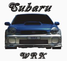 Subaru WRX (Light colors) by Glenn Bumford