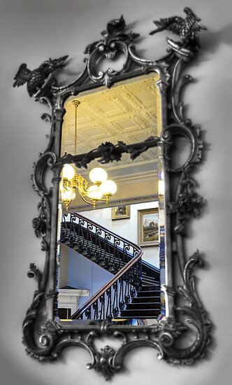 Antique Mirror, Art Gallery of Ballarat, Victoria, Australia by Martin Lomé