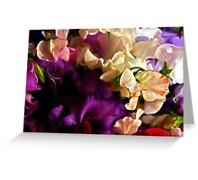 """""""Bouquet of Love """" Greeting Card"""