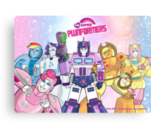 My Little Pwnformers Group Canvas Print