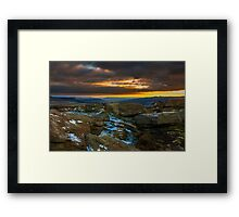 Were The Earth Meets The Sky Framed Print