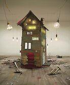 'Bulb Factory' by Matylda  Konecka Art