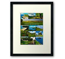 Ireland, Emerald Isle Framed Print