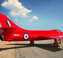 Hawker Hunter F.3 WB188 by Colin Smedley