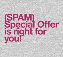 (Spam) Special offer! (Magenta type) by poprock
