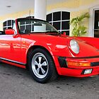 Red Porsche 911 by chris-csfotobiz