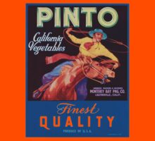 Vintage Advertising Pinto California Vegetables by Vana Shipton
