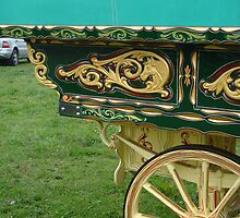 Detail of a gypsy caravan by elsiebarge
