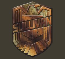Custom Dredd Badge Shirt - Pocket - (Sullivan) by CallsignShirts