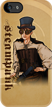 Steampunk Lady by Patrick Scullin