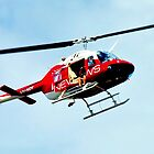 CHANNEL 7 CHOPPER-ADELAIDE by JAMES LEVETT