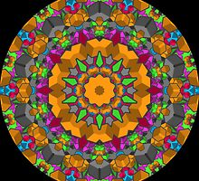 Color Blocks Kaleidoscope 01 by fantasytripp