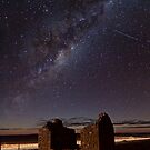 Milky Way above Gumbowie School Ruin by pablosvista2