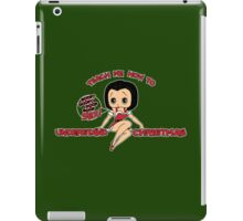 Annie: Teach Me How To Understand Christmas (Variant) iPad Case/Skin