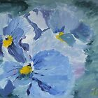 Pansy Show Off by Jaana Day