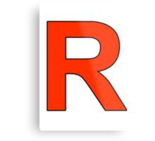 Team Rocket Logo Metal Print
