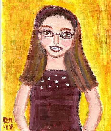 Alexandra Carmen Markow Age 10 by RobynLee
