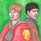 Merlin and Arthur by Wingspan91089