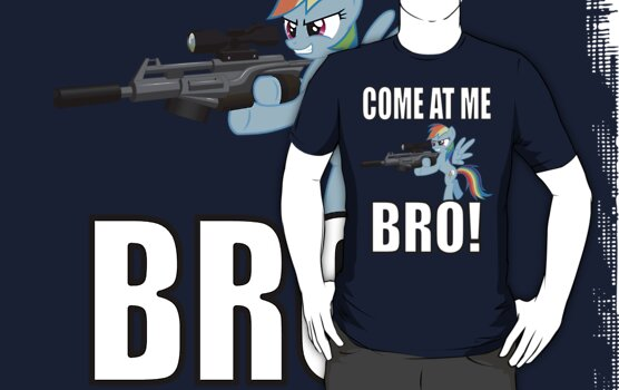 COME AT ME BRO! by Pegasi Designs