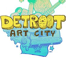 Detroit Art City by ashurcollective