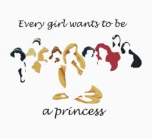 every girl wants to be a princess by christieloulou