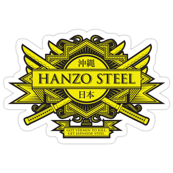 Hanzo Steel - Sticker by heavyhand