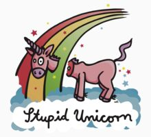 The stupid unicorn loses his head by chrisbears