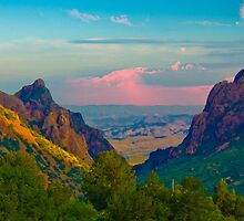 Chisos Mountains - Big Bend National Park by Gary Grayson