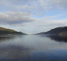 A Winters day at Loch Ness  by JeliseCamilleri