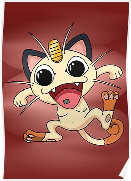 Meowth On Acid by sheakennedy