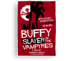 Slayer of the Vampyres Canvas Print