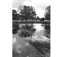 The Wind-swept River Trent at Stapenhill Photographic Print