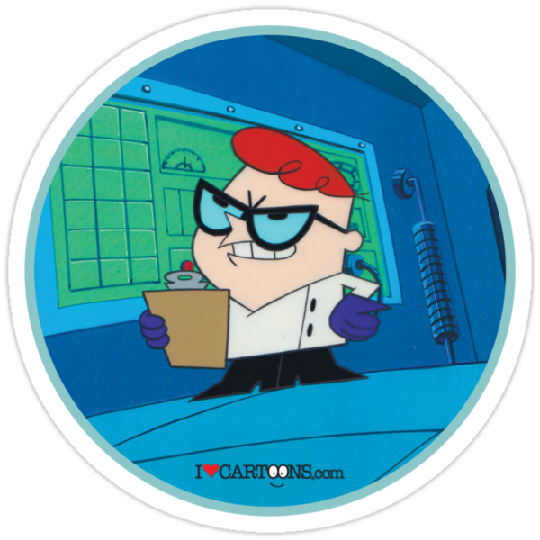 Dexter - Dexter's Laboratory (Production Cel) by Sebastian Sindermann