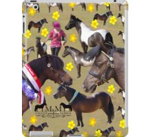 M M Valley Lodge Miniatures iPad Case/Skin