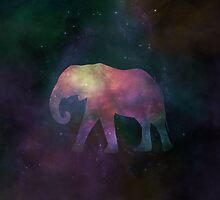 Cosmic Elephant by RainbowCarnagex