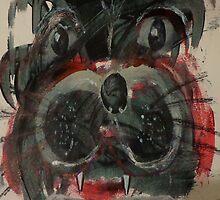Mr. French the Bulldog by Teca Burq