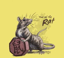 Chinese Zodiac - Year of the Rat Kids Clothes